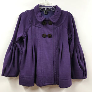 Marc by Marc Jacobs Purple Wool Blend Jacket